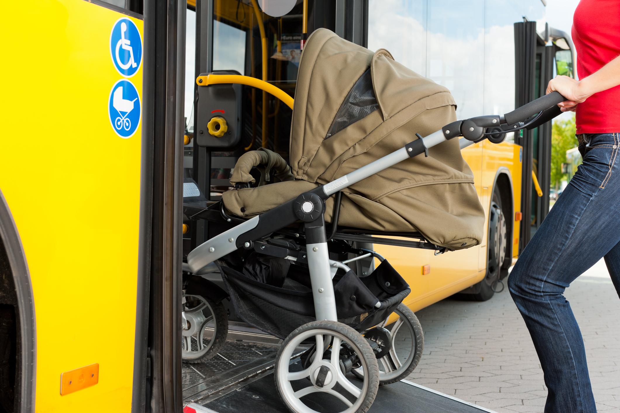 wózek autobus